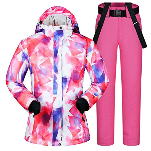 MEOBHI ski pak 2019 Nieuwe Snowboarding Suits Vrouwen Kleding Ski Jas En Broek Sneeuw Outdoor Winddicht Waterdichte Kleding Winter Ski Suit