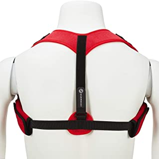 Enerbodi Posture Corrector for Men and Women - Upper Back Brace, Adjustable Posture Corrector for Neck, Shoulder, Back Pain Relief and Thoracic Kyphosis, Clavicle Support Back Straightener Brace
