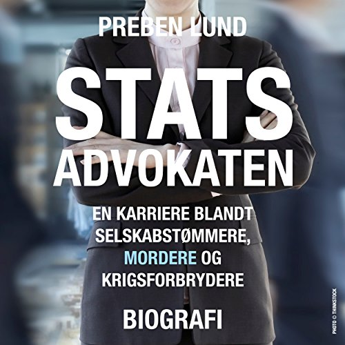 Statsadvokaten audiobook cover art