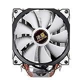 DP-iot HOT-Snowman 4PIN CPU Cooler 6 heatpipe Single Fan Cooling 12cm Fan LGA775 1151 115x 1366 Support Intel AMD