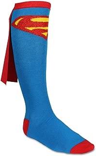 Superman Cape Knee High Socks 1 x 1in