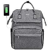 Laptop Backpack, 17 Inch Laptop Bag for Women Computer Work Bag Bookbag (Upgraded)