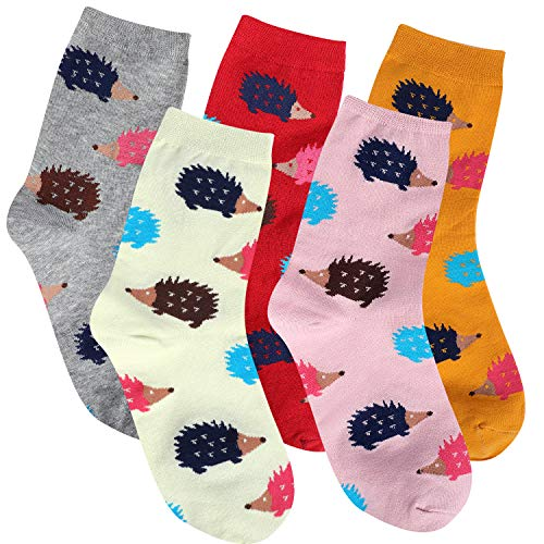 Hedgehog Socks Cotton Funny Fun Cute Animal Gifts