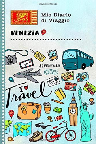 Venezia Diario di Viaggio: Libro Interattivo Per Bambini per Scrivere, Disegnare, Ricordi, Quaderno da Disegno, Giornalino, Agenda Avventure – Attività per Viaggi e Vacanze Viaggiatore