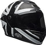 Bell Race Star Adult Ace Café Blackjack Full Face Helmet - Matte/Gloss Black/White/Medium