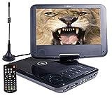 Nevir DVD PORTATIL 9'' NVR-2767DVD-PUCT2 Negro TDT HD USB