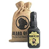 Warm Tobacco Pipe - 1oz Beard Oil Conditioner + Burlap Sack - Natural & Organic, Made to Order