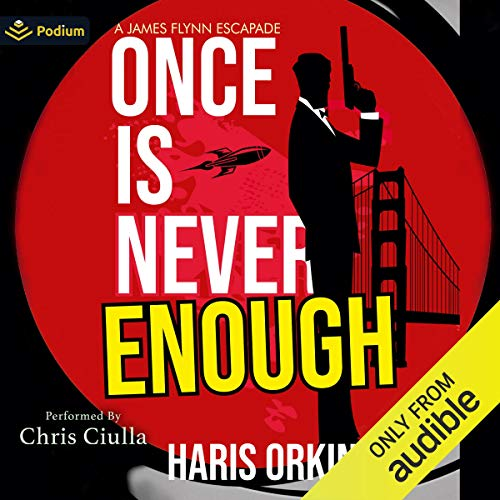 Once Is Never Enough Audiobook By Haris Orkin cover art