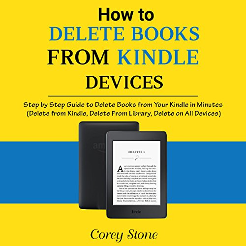 Kindle Book Cover Art : How to delete books from kindle devices audiobook corey