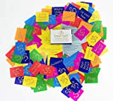 Inner Self Guidance Cards to Assist with Decisions, Relationships, Self-Esteem, Healing, 128 Spiritual Mini Card Deck with Instructions & Transformational Game