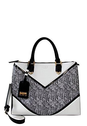 LYDC London Damen Handtasche Kunstleder Henkeltasche