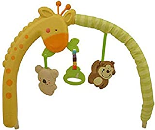 Replacement Toybar / Arch with Toys for Fisher Price LUV U Zoo Bouncer (T8379)