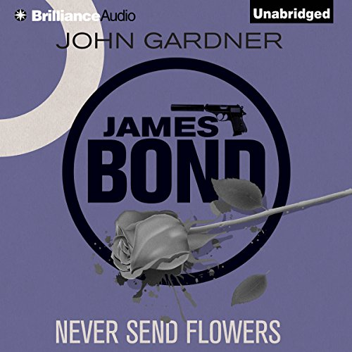 Never Send Flowers audiobook cover art