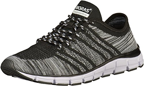 Boras Sneaker in Übergrößen Schwarz 5200-0145 große Herrenschuhe, Größe:51