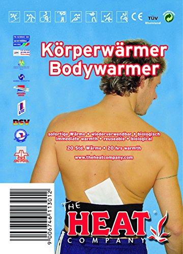 The Heat Heat körperwärmer, 1 Couteau, Gris, M
