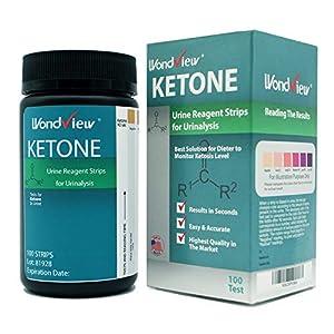 buy  Wondview Ketone Test Strips: Testing Ketosis Based ... Diabetes Care