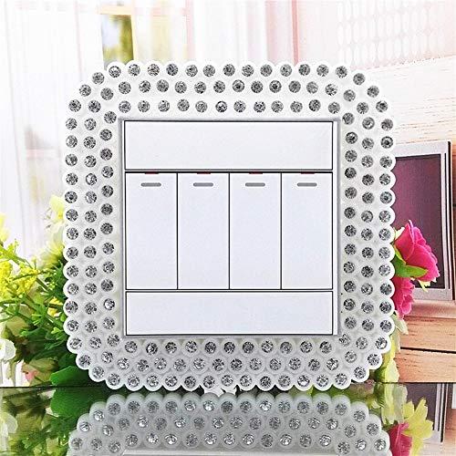 HUDNNFO 2 Piezas Creativas plástico Interruptor Perla