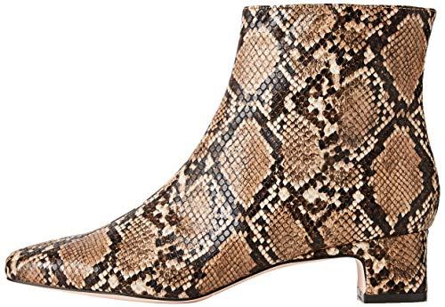 find. Block Heel Square Toe Stiefeletten, Braun Brown Snake), 39 EU