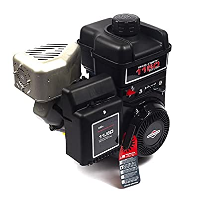 Briggs and Stratton 15T212-0160-F8 1150 Series Intek PowerBuilt 11.50 Gross Torque Engine with A 1-Inch Diameter by 2-7/8-Inch Length Crankshaft, Keyway, and 3/8-24 Tapped