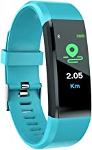 Yellsong Smart Watch - Touch Screen Bluetooth Fitness Tracker Heart Rate Monitor Blood Presure Smart Bracelet Compatible iPhone iOS Samsung LG Android Men Women Kids