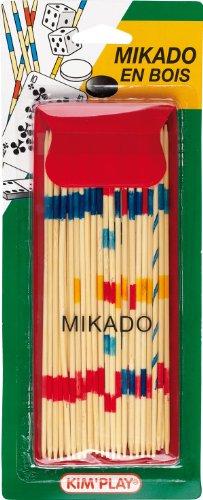 Cofalu Kim'Play - Jeu de voyage - Mikado En Bois Avec Pochette