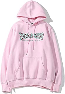 Rose Sweater Men and Women Couples Loose Hooded Long Sleeve