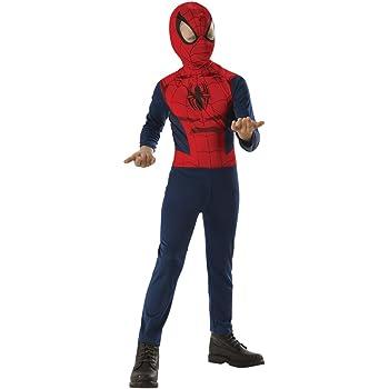 Rubies 620877-L Disfraz de Spiderman para niño, L (8 -10 años ...