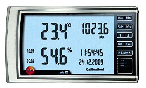 Testo 05606220igrometro con indicatore di pressione