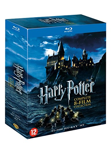 Harry Potter 1-7 - Complete Collection - 11 Discs Special Edition [Blu-ray] [EU-Import mit Deutscher Sprache]