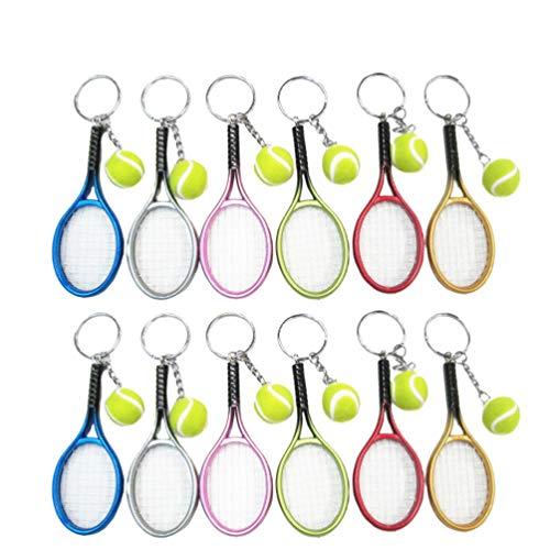 LIOOBO 12 pièces Mini-Balle De Tennis Raquette...