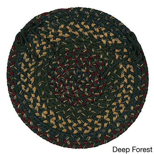 Colonial Mills Dawn Chair Pads (Set of 4) Deep Forest