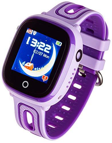 Garett Electronics Kinder Glücklich Smartwatch, Violett 5903246280548 lila