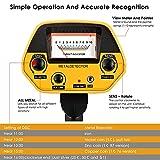 IMG-2 metal detector impermeabili seaan regolabile