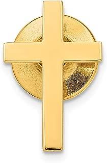 14k Yellow Gold Logoart University Of Notre Dame Crest Tie Tac
