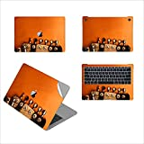 GADGETS WRAP Guitar Tunes Printed Top, Bottom & Inside for Apple MacBook Air 13 inch