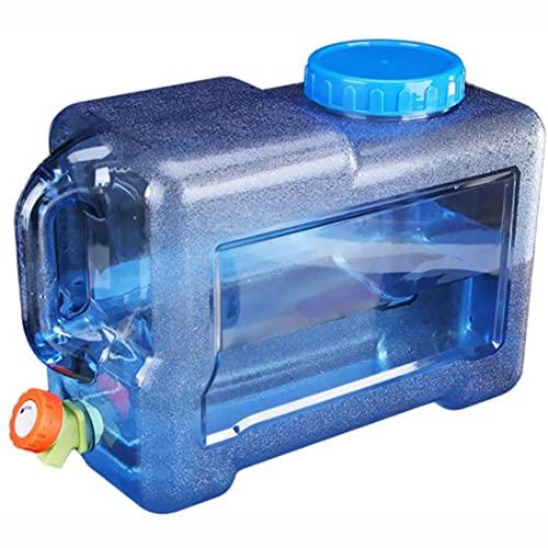 BEIDACON 2021 Nuevo Depósito de Agua de 5-22L para Autocaravana, Bote de Agua Portátil con Asa, Bidón de Comida con Grifo, Viajes, Camping, Barbacoa, Pesca