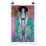 Bilderwelten Poster Galerieprint - Gustav Klimt - Adele