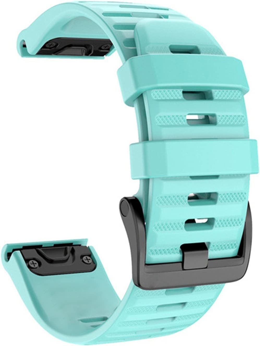 LGFCOK Soft Large discharge sale Silicone 26mm 22mm Release Watchband Quick Raleigh Mall Wriststra