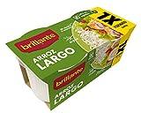 Brillante Arroz Largo Precocido - Paquete de 2 x 200 gr - Total: 400 gr