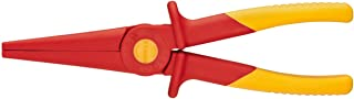 KNIPEX Tools 98 62 02, Flat Nose Plastic Pliers 1000V Insulated