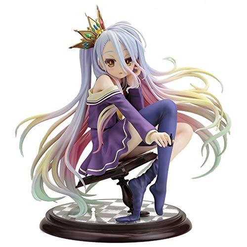 ALTcompluser Anime No Game No Life Shiro PVC Figur Statue Actionfigur Sammelfigur | Spielzeug Zimmer Deko