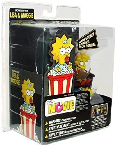 Simpsons Movie  Movie Mayhem Lisa and Maggie by McFarlane
