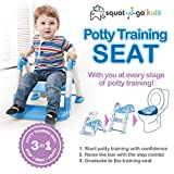 Babyloo Bambino Booster 3 in 1 - Collapsible Toilet Training Step Stool assists Your Toddler to go While They Grow!...