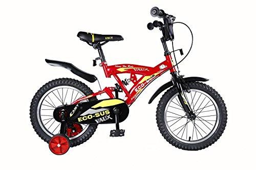 Vaux Kids Eco-Sus Sport Steel Frame Bicycle (16T, Red)