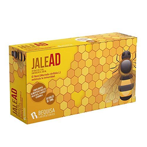 Jalea Real con Propóleo - Jalea Real Pura - Propóleo y Vitamina C - Equinácea + Hárpago - Equinacea y Propoleo - Energía y Vitalidad - Más Defensas - Suplemento Alimenticio Natural - 20 viales