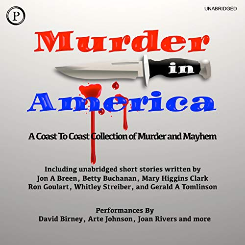 Murder in America audiobook cover art
