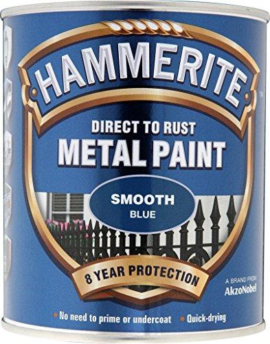 Hammerite Metallfarben-glatte 750ml Blau