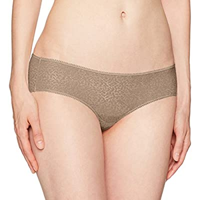 DKNY Women's Modern Lace Hipster Panty, Champagne, Small