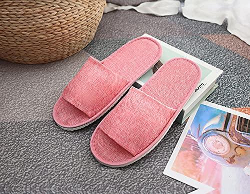 JKCTOPHOME Pantofole estive all'aperto,Pantofole USA e Getta Spesse Antiscivolo per Hotel-A_10 Paia,Pantofole di Gomma