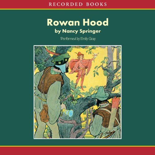 Rowan Hood audiobook cover art